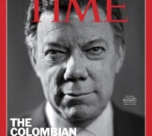 Juan Manuel Santos en la caratula de TIME